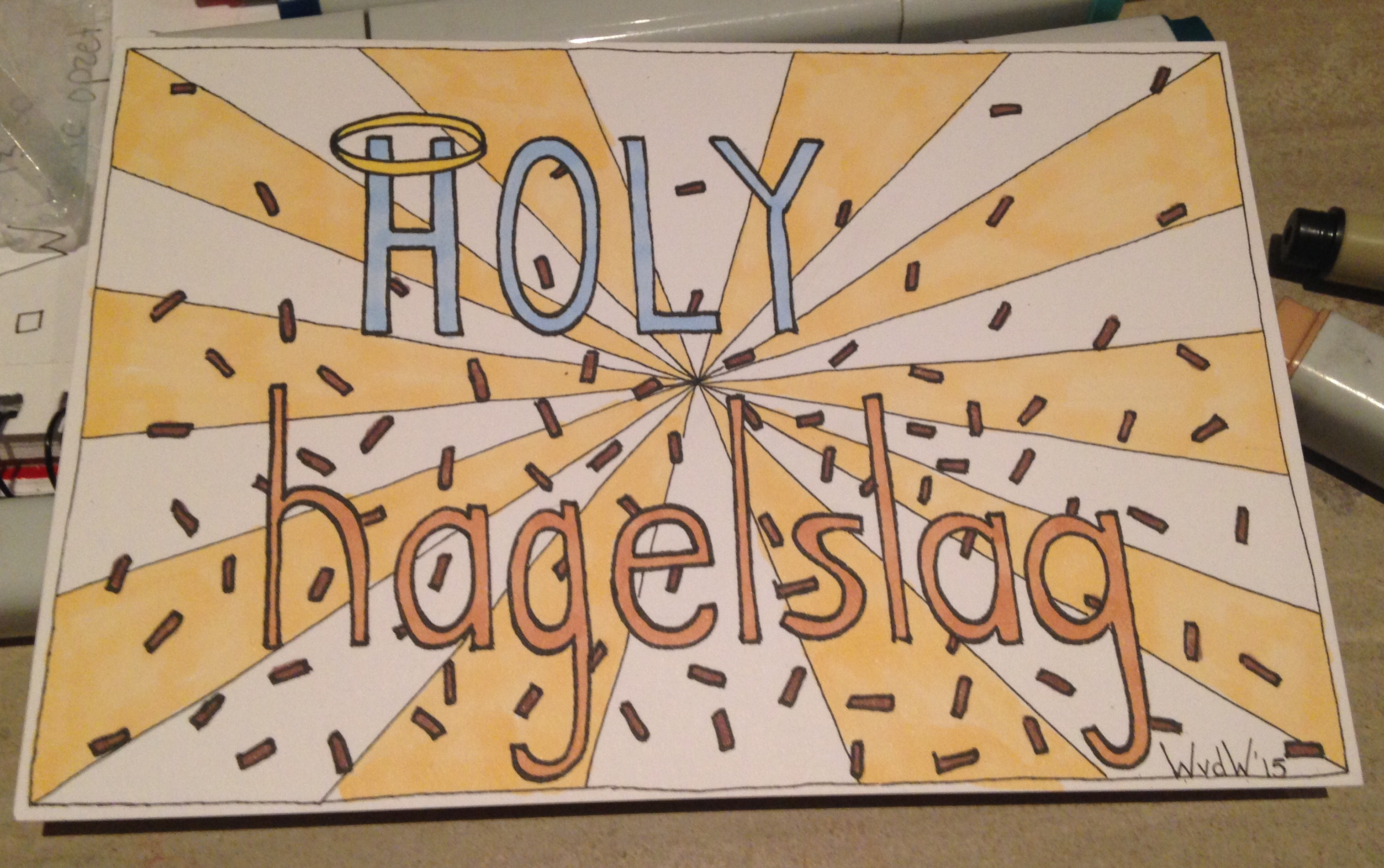 Holy hagelslag