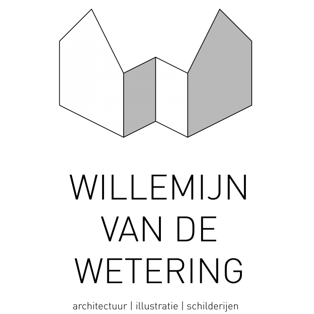 Logo Willemijn van de Wetering architect