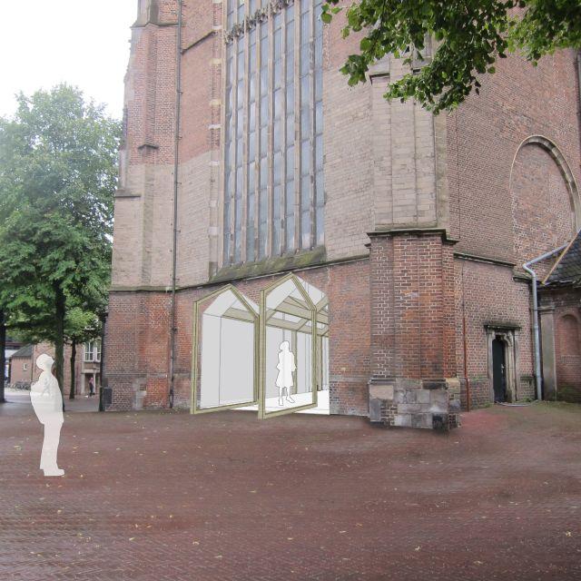 Entree Eusebiuskerk, Arnhem