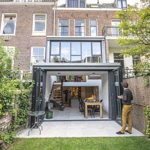 Huis aan de singel in Utrecht